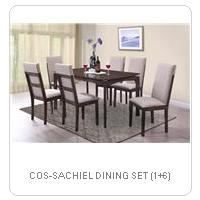 COS-SACHIEL DINING SET (1+6)